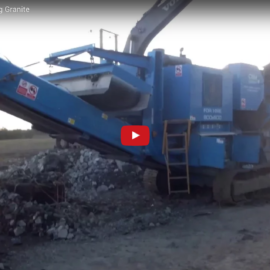 Jaw Crusher Crushing Granite
