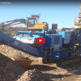 CSM Leicester Crusher Hire Video