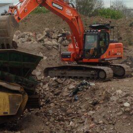 Excavator Plant Hire